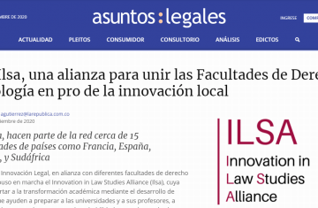Asuntos Legales publishes the launch of ILSA