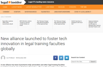 Legal IT Insider publishes the launch of ILSA