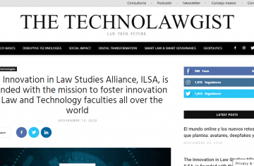 The Technolawgist publishes the launch of ILSA